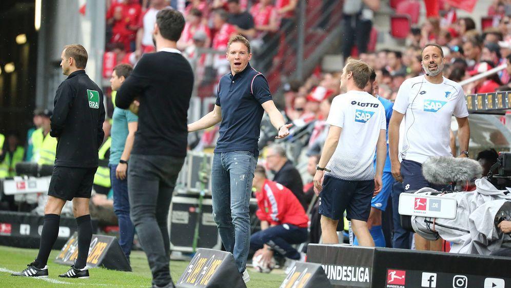 Julian Nagelsmann verabschiedet sich mit einer Niederlage aus Hoffenheim - Bildquelle: imago