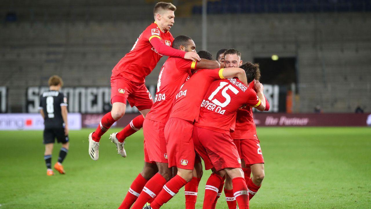 Platz 3: Bayer 04 Leverkusen - Bildquelle: Getty Images