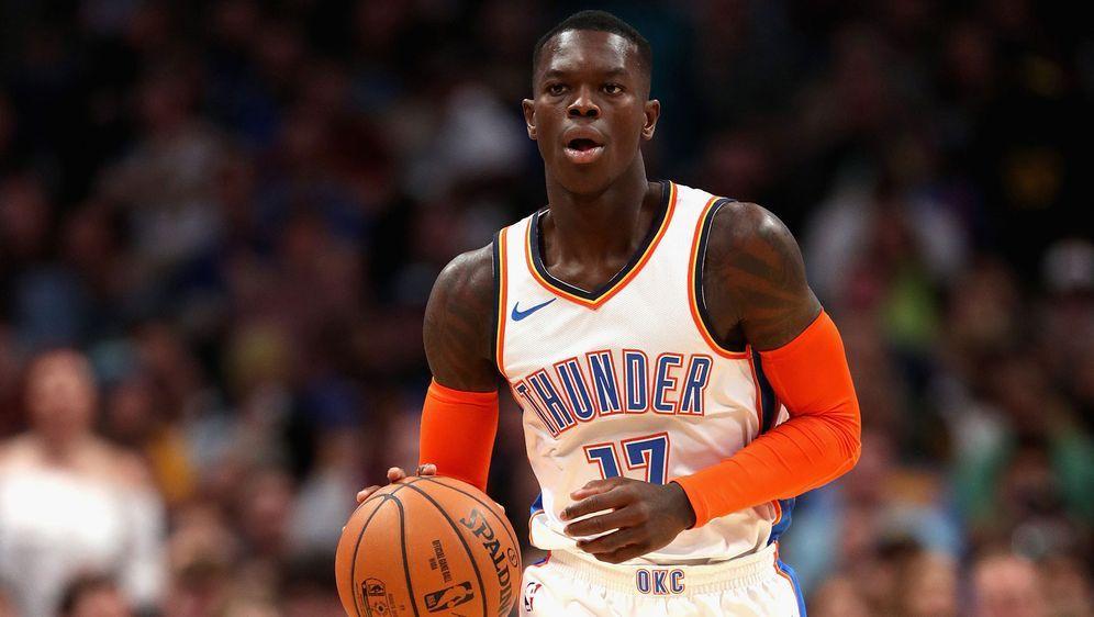 Schröder spielt seit 2018 für die Oklahoma City Thunder. - Bildquelle: 2018 Getty Images