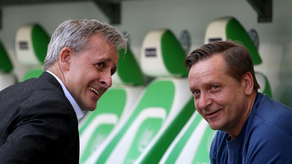 Pierre Littbarski (l.) traut Heldt die Wende beim FC zu - Bildquelle: FIROFIROSID