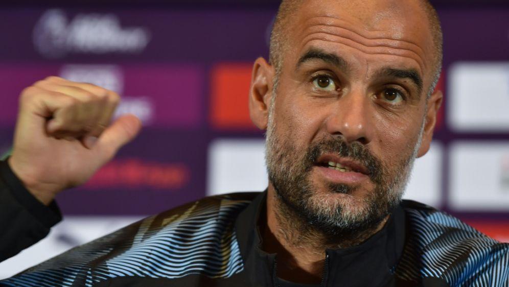 Pep Guardiola ist seit 2016 Trainer von Manchester City - Bildquelle: AFPSIDHECTOR RETAMAL