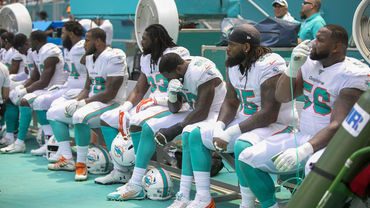 Verlierer: Miami Dolphins - Bildquelle: imago images / ZUMA Press