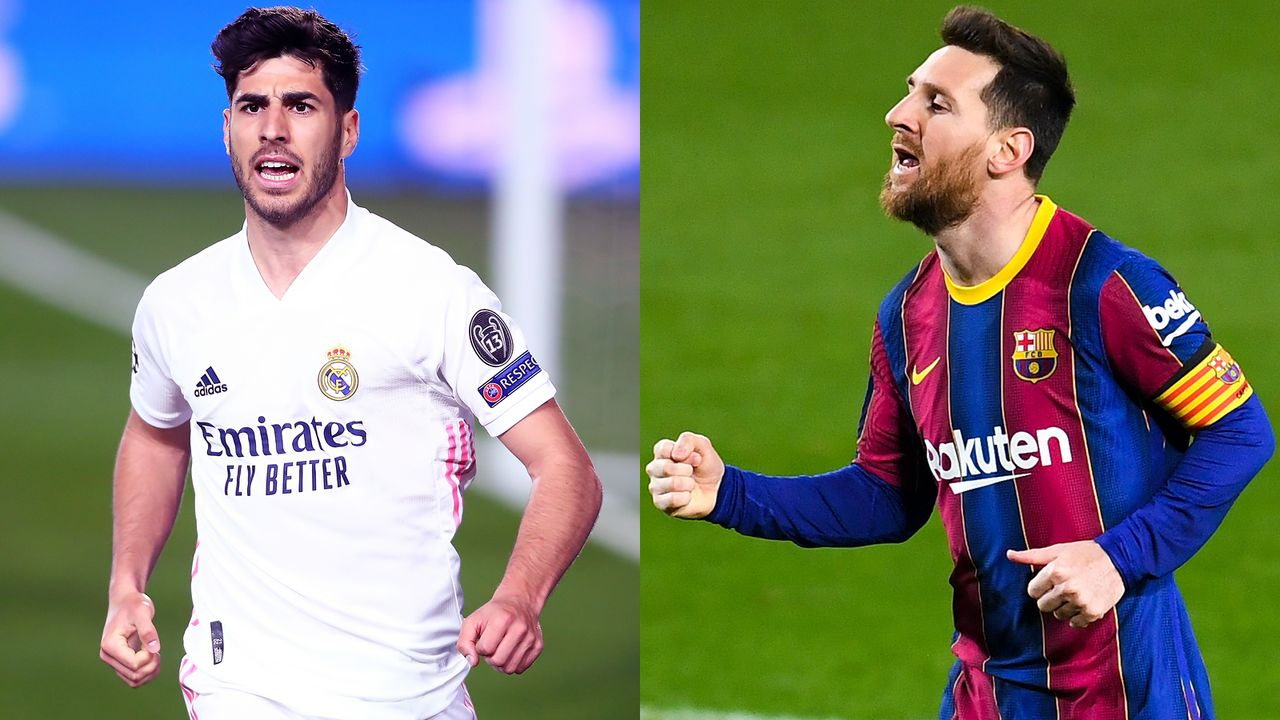 Marcos Asensio vs. Lionel Messi - Bildquelle: Getty Images