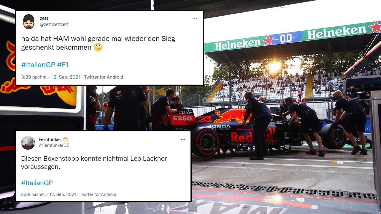 Max Verstappen mit bitterem Boxenstopp  - Bildquelle: 2021 Getty Images