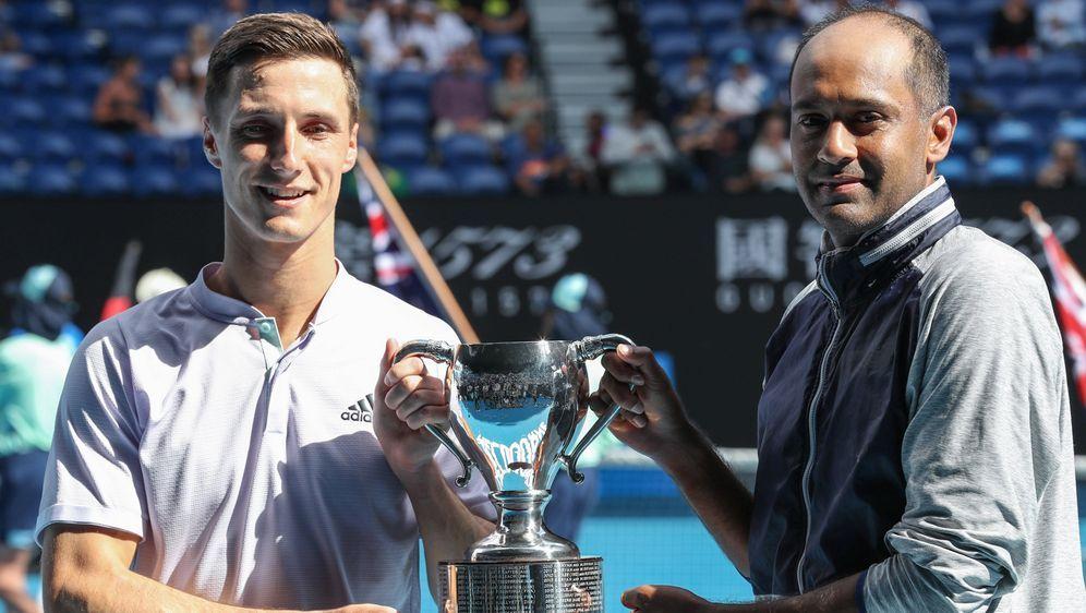 Salisbury (l.) und Ram holten ihren ersten Grand-Slam-Titel - Bildquelle: Imago