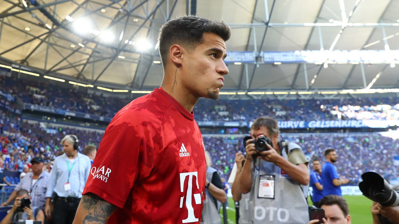 Der Bundesliga-Einstand von Philippe Coutinho beim FC Bayern - Bildquelle: 2019 Getty Images