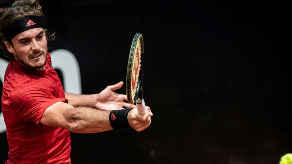 Stefanos Tsitsipas gewinnt in Lyon - Bildquelle: AFPSIDJEFF PACHOUD