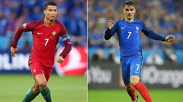 Die Final-Stars im großen Vergleich: Ronaldo vs. Griezmann - Bildquelle: 2016 Getty Images