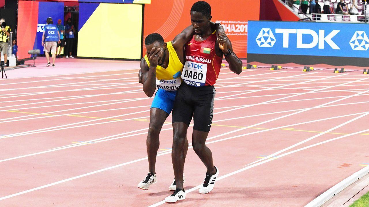 Sportgeist in Katar - Bildquelle: imago images/Chai v.d. Laage