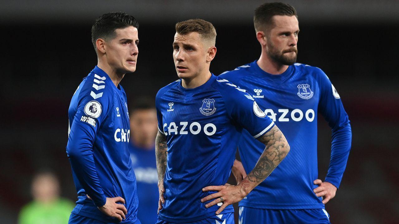 Platz 12 - FC Everton (England) - Bildquelle: 2021 Getty Images