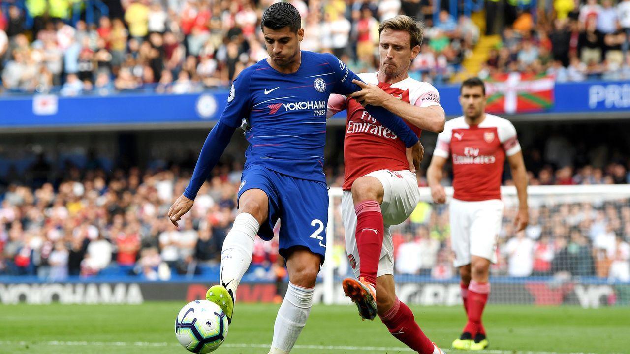 Platz 2: Alvaro Morata - Bildquelle: 2018 Getty Images