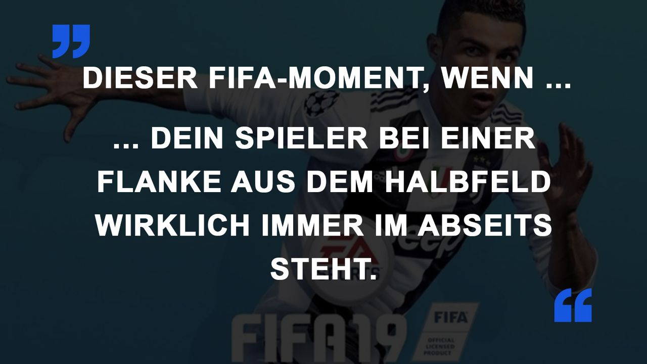 FIFA Momente Abseits
