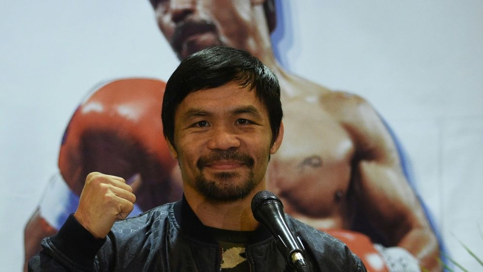 Manny Pacquiao steigt wieder in den Ring - Bildquelle: AFPSIDTED ALJIBE