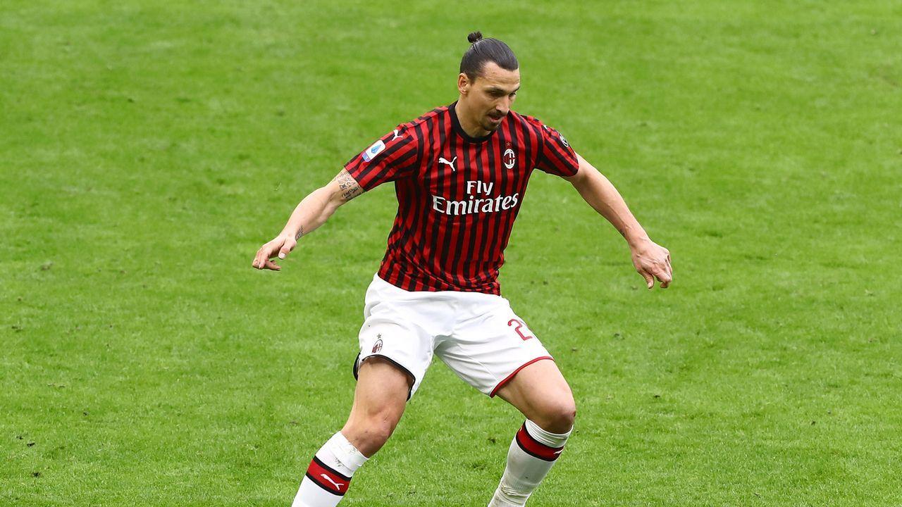 Zlatan Ibrahimovic (AC Mailand) - Bildquelle: getty
