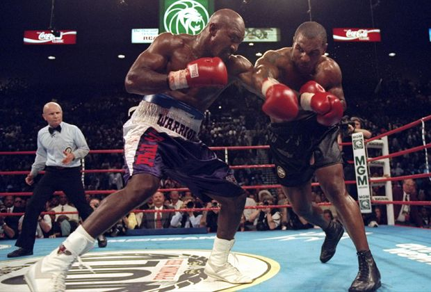 Evander Holyfield vs. Mike Tyson II - Bildquelle: Getty