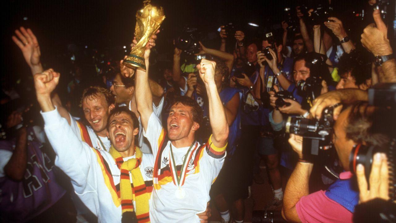 WM-Finale 1990: Argentinien - Deutschland - Bildquelle: imago/WEREK