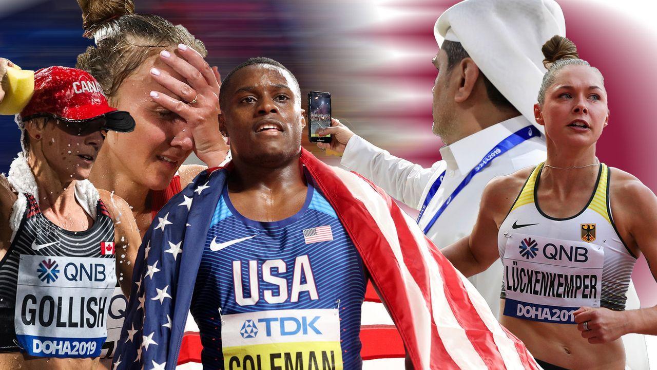 Leichtathletik: Die Skandal-WM von Katar - Bildquelle: imago/getty