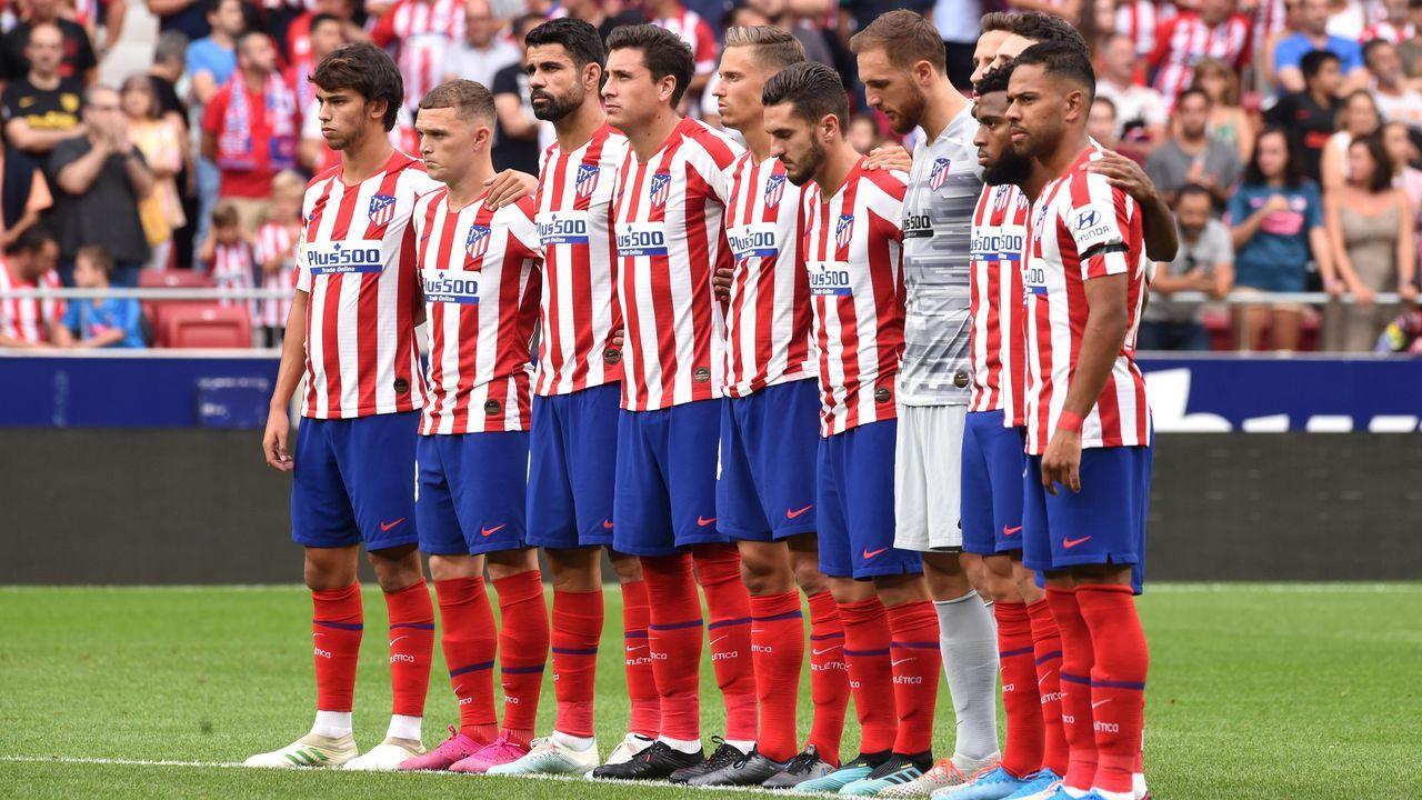 Athletico Madrid Kader