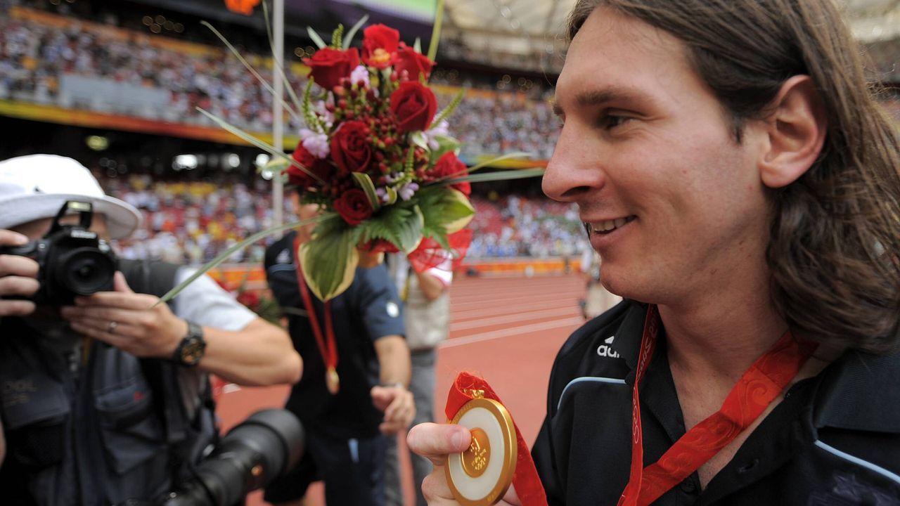Messi schnappt sich olympisches Gold - Bildquelle: imago sportfotodienst