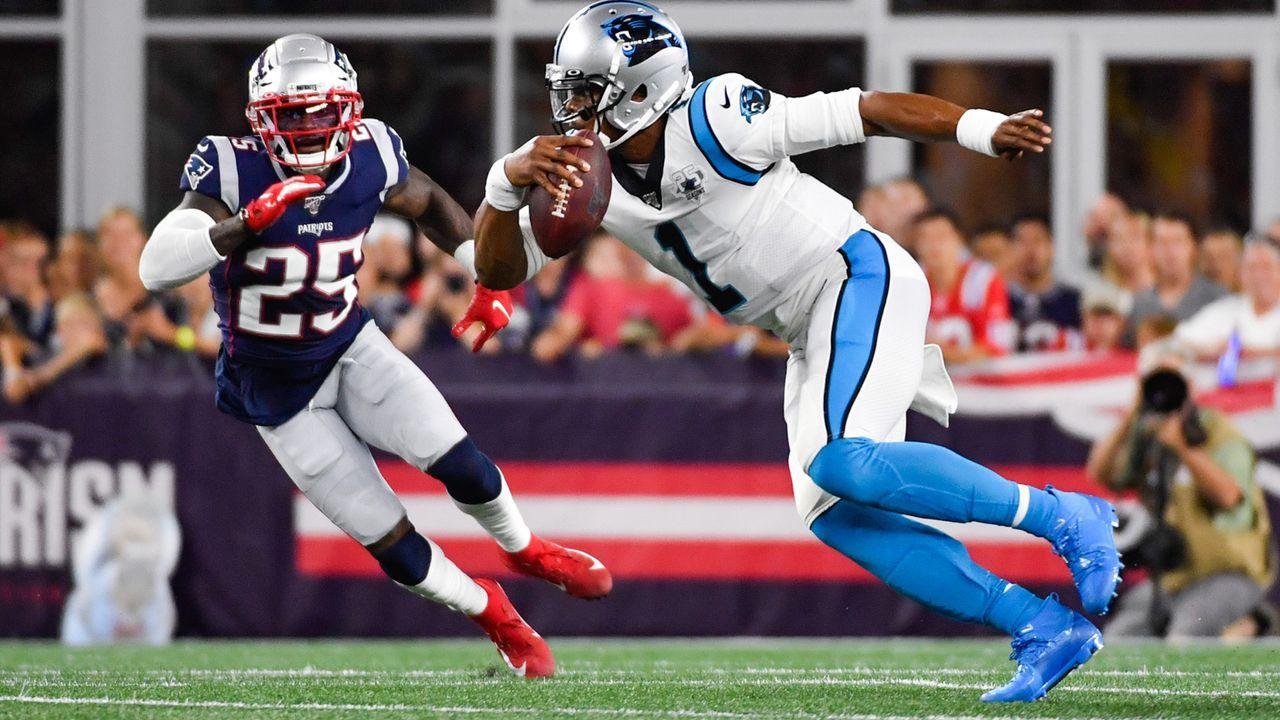 Cam Newton (Free Agent) - Bildquelle: 2019 Getty Images