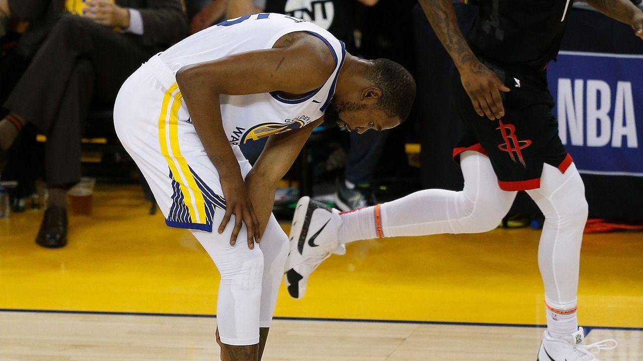 Durant verpasst zumindest Spiel 1 - Bildquelle: 2019 Getty Images