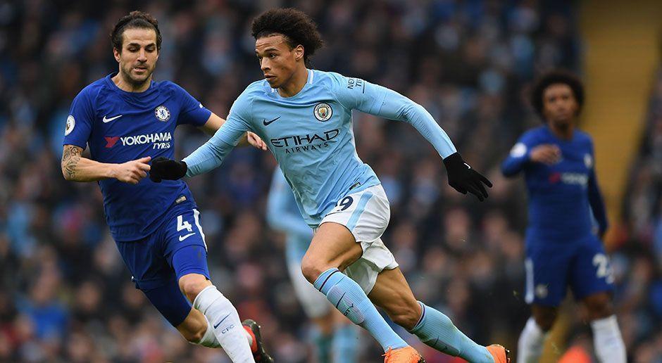 1. Leroy Sane (Manchester City) - Bildquelle: 2018 Getty Images