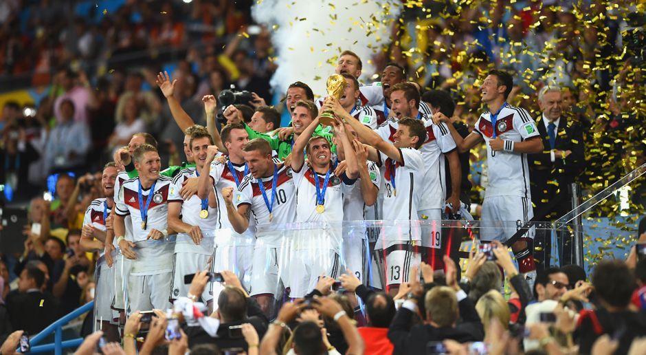 DFB-Team wird Weltmeister - Bildquelle: 2014 Getty Images