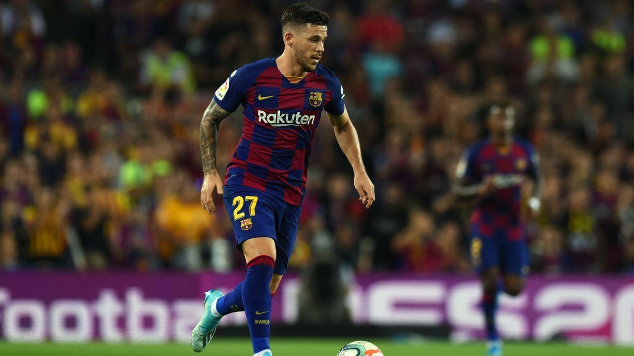 Carles Perez (FC Barcelona) - Bildquelle: 2019 Getty Images
