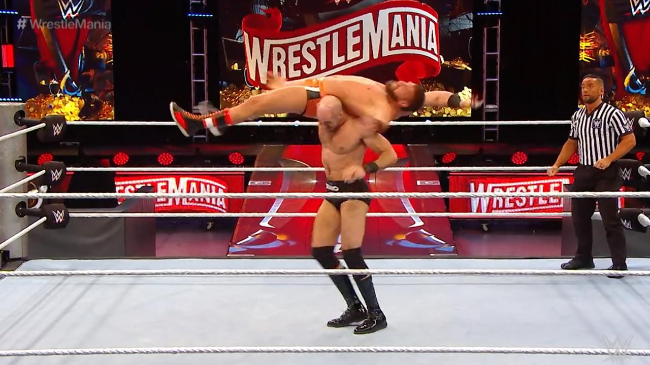 Kickoff-Show: Drew Gulak gegen Cesaro