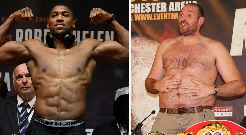 Anthony Joshua vs Tyson Fury - Bildquelle: Getty Images