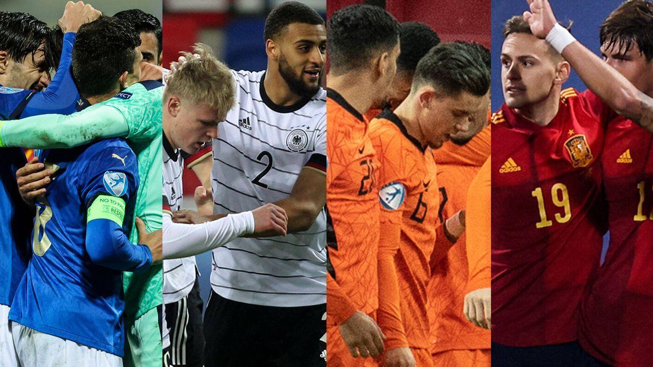 U21-EM: Diese Junioren-Nationalmannschaften stehen im Viertelfinale - Bildquelle: imago images/Matthias Koch