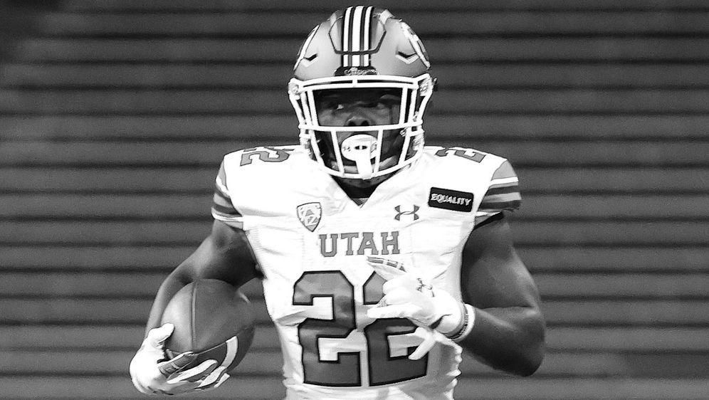 Ty Jordan war der Running Back der Utah Utes - Bildquelle: 2020 Getty Images