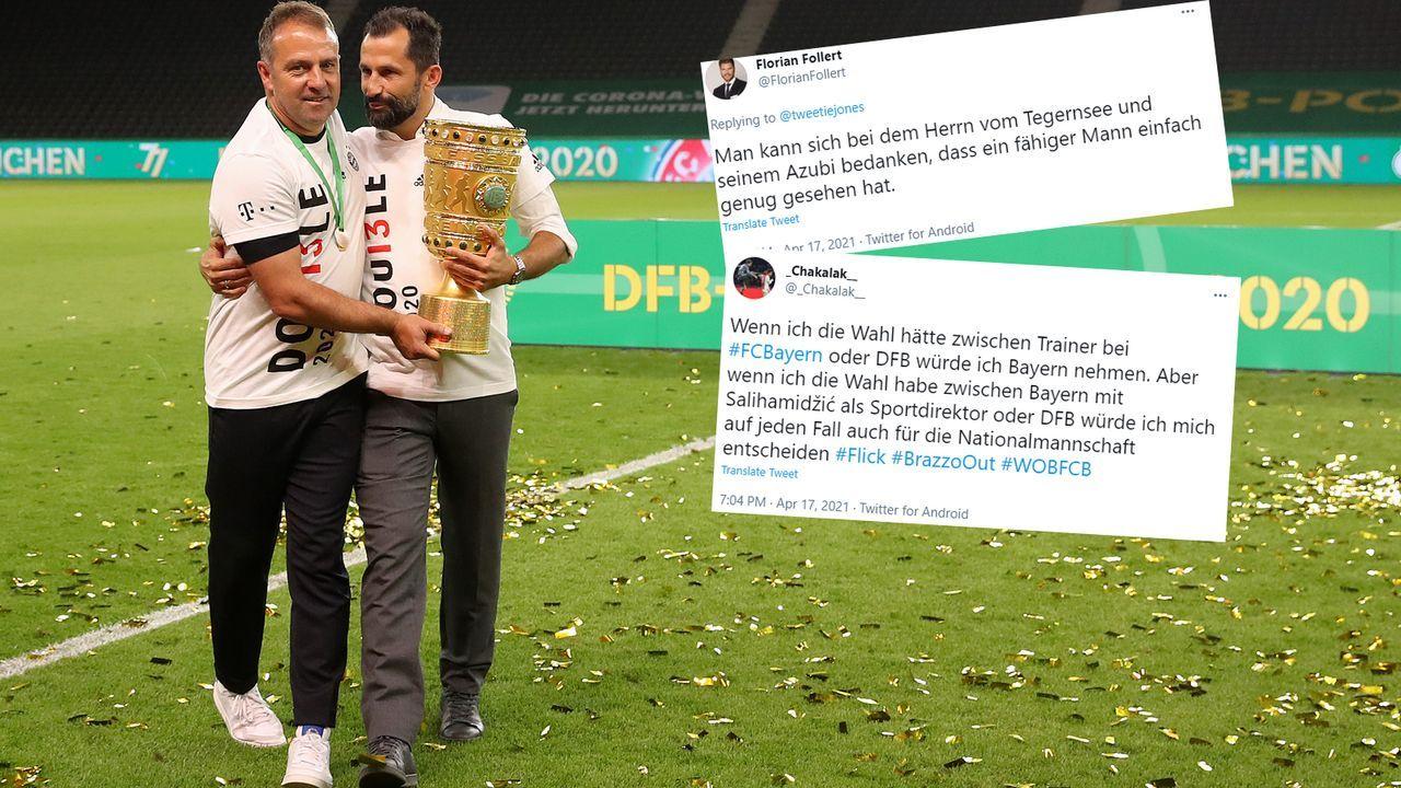 Kritik an Hasan Salihamidzic - Bildquelle: Getty Images/Twitter