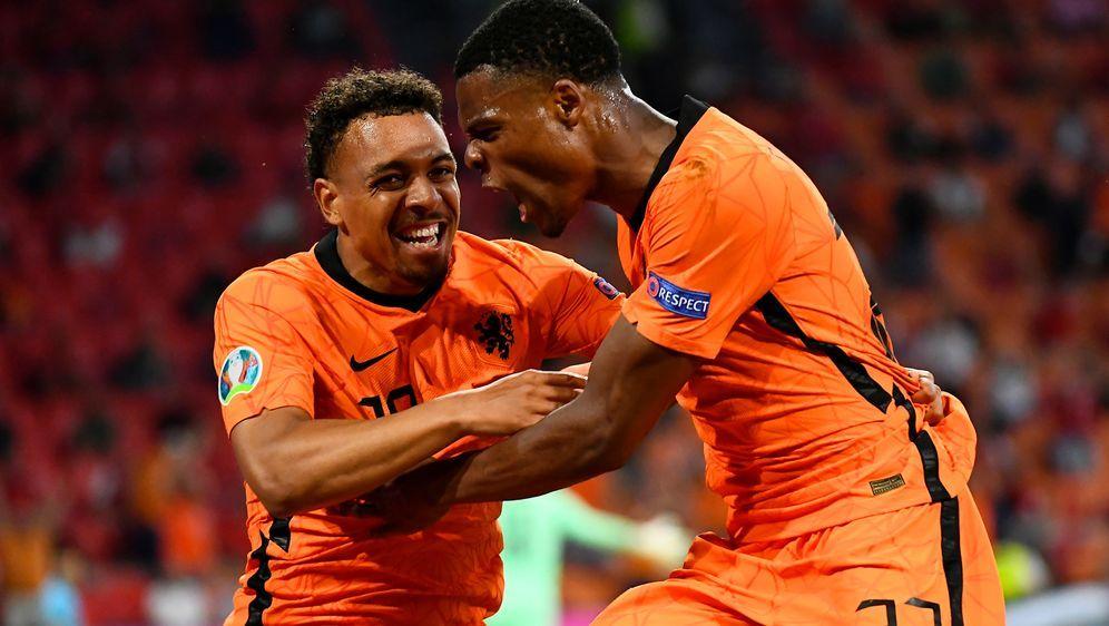 Bei der Fußball-Europameisterschaft trifft Nordmazedonien in Amsterdam auf d... - Bildquelle: 2021 Getty Images