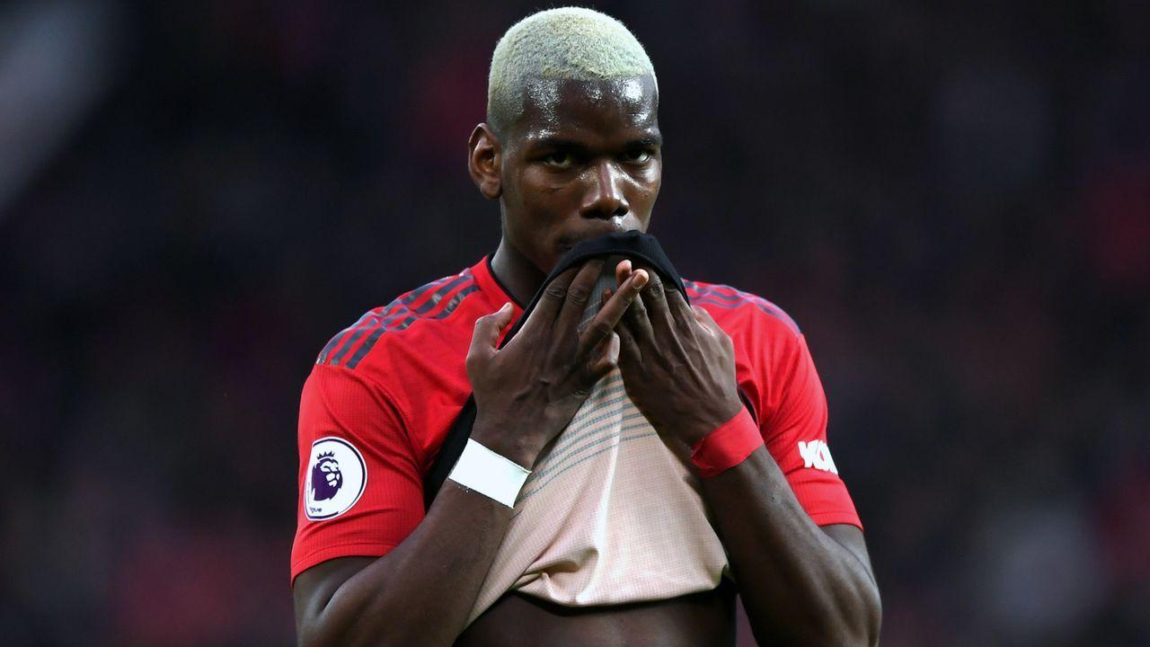 Platz 1 - Paul Pogba (Manchester United) - Bildquelle: 2019 Getty Images