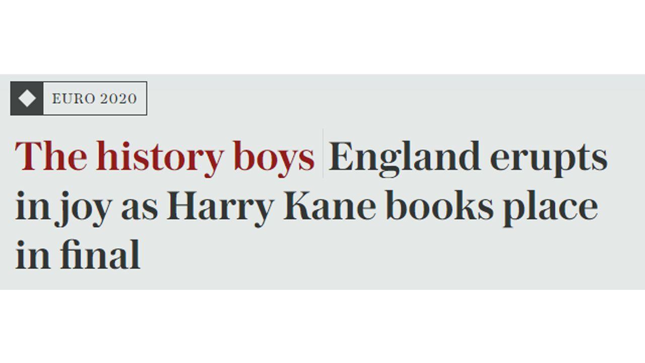 "The Telegraph: ""The history boys"" - Bildquelle: The Telegraph"