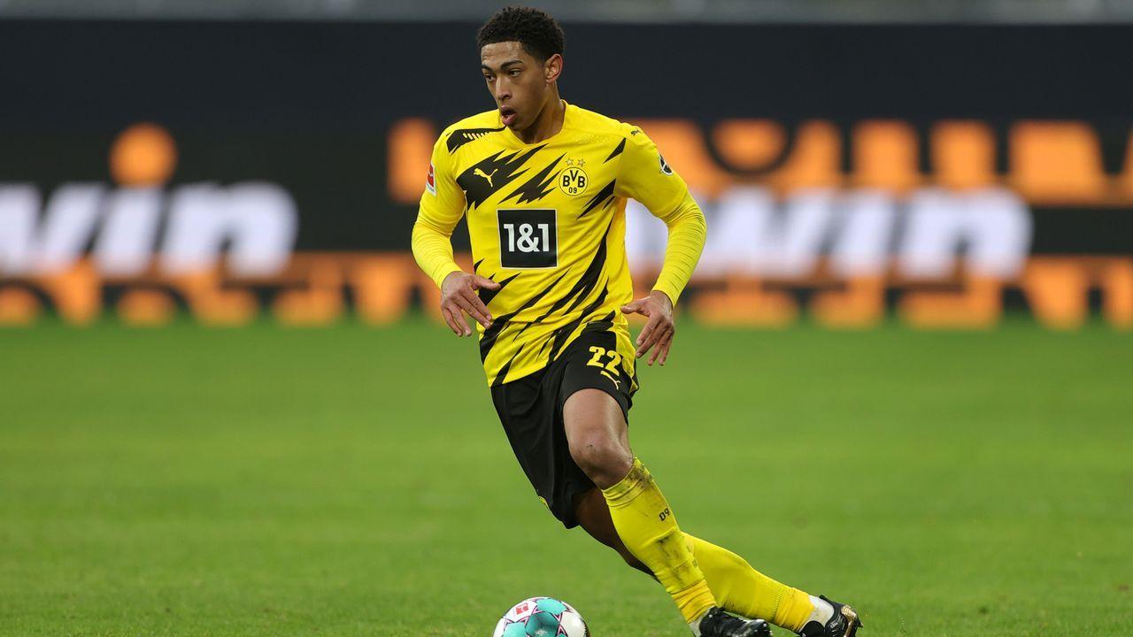 Mittelfeld: Jude Bellingham (Borussia Dortmund) - Bildquelle: 2021 Getty Images