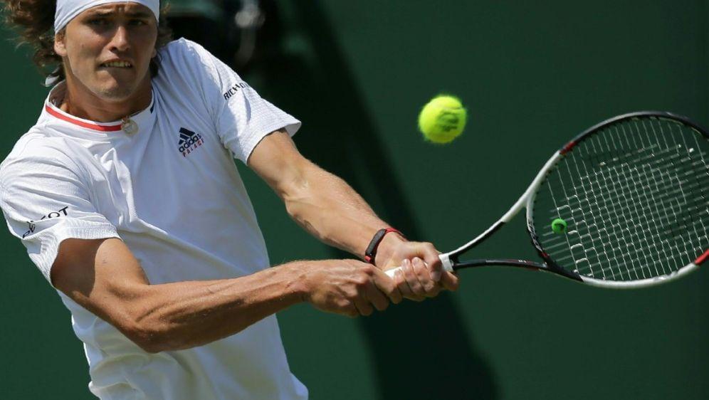 Zverev steht in Wimbledon in Runde zwei - Bildquelle: AFPSID