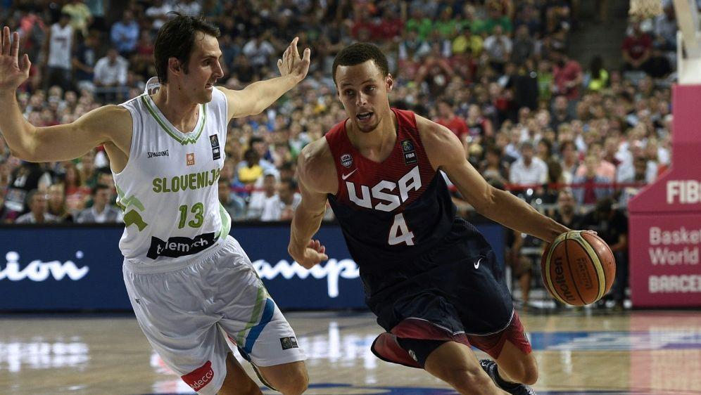 Stephen Curry träumt von einem Auftritt bei Olympia - Bildquelle: AFPSIDLLUIS GENE