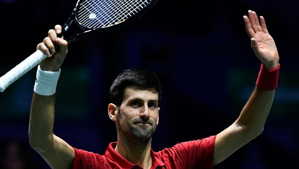 Novak Djokovic führt Serbien ins Viertelfinale - Bildquelle: AFPAFPOSCAR DEL POZO