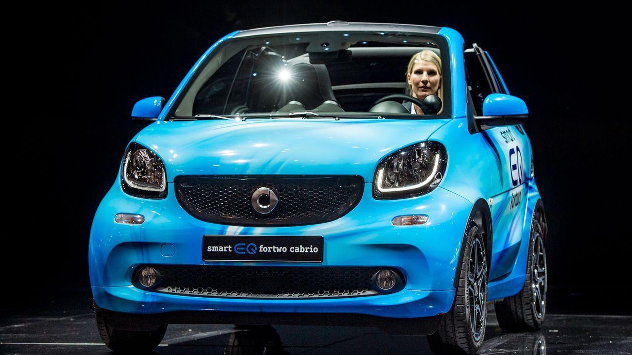 Smart fortwo EQ cabrio - Bildquelle: 2018 Getty Images