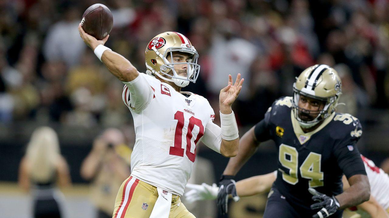 10. Spieltag: San Francisco 49ers @ New Orleans Saints - Bildquelle: 2019 Getty Images