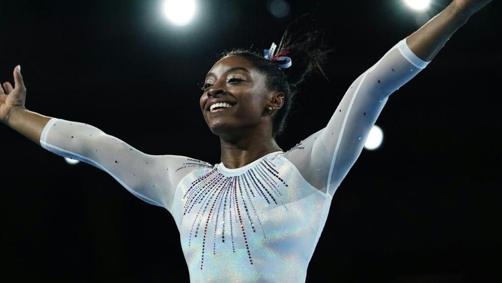 Simone Biles gewinnt das Sprung-Finale der Kunstturn-WM - Bildquelle: AFPSIDLIONEL BONAVENTURE