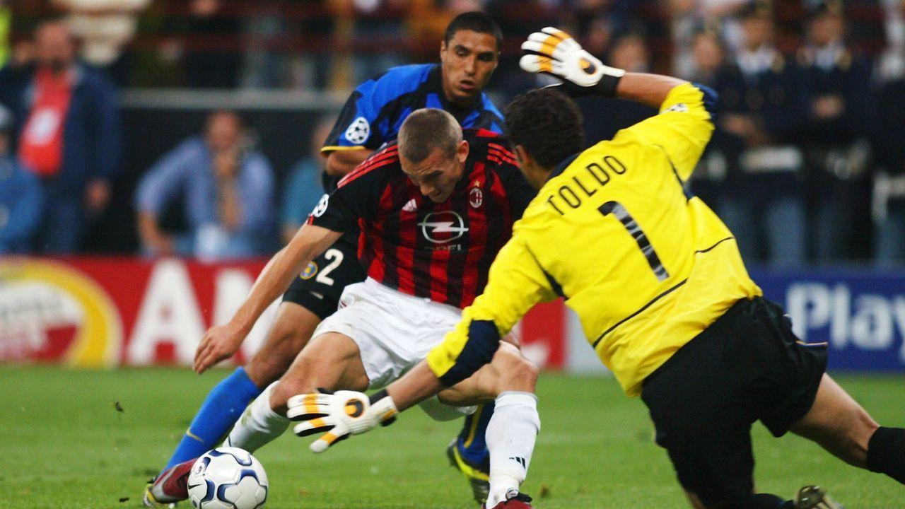 Inter Mailand - AC Mailand (Saison 2002/03) - Bildquelle: 2003 Getty Images