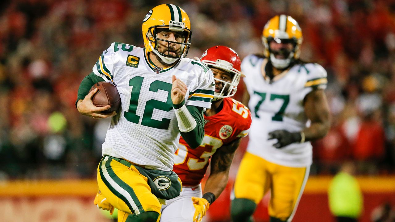 Sit: Quarterback Aaron Rodgers - Bildquelle: Getty Images