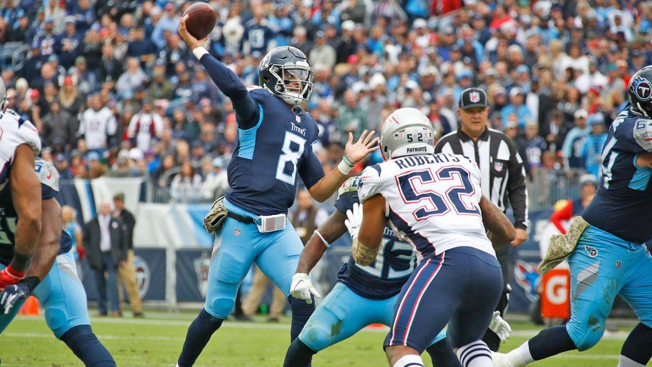 Patriots at Titans - Bildquelle: 2018 Getty Images