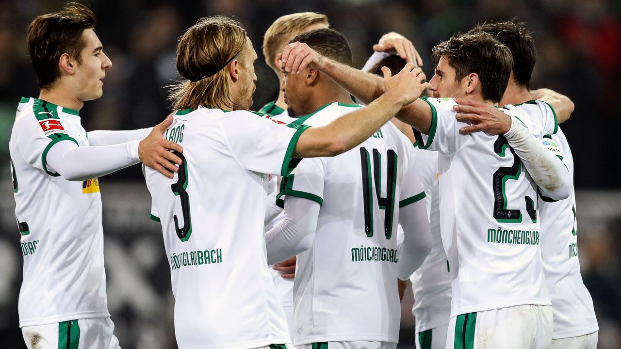 Platz 7 - Borussia Mönchengladbach - Bildquelle: 2018 Getty Images