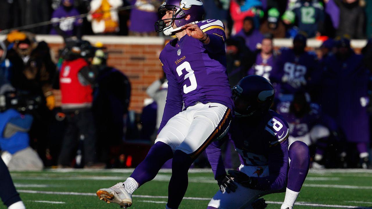 Season 2015: Blair Walsh (Minnesota Vikings) - Bildquelle: 2016 Getty Images