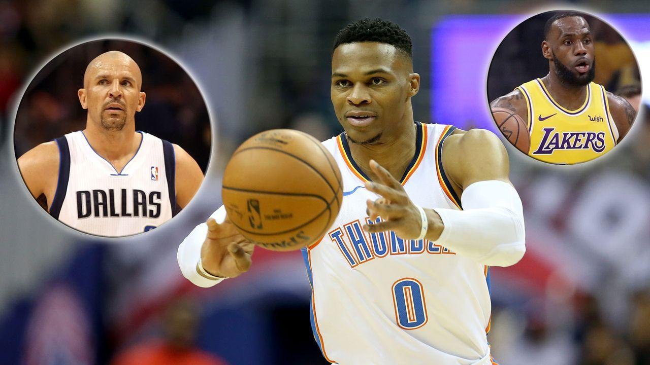 NBA: Die Spieler mit den meisten Triple Doubles - Bildquelle: 2018 Getty Images