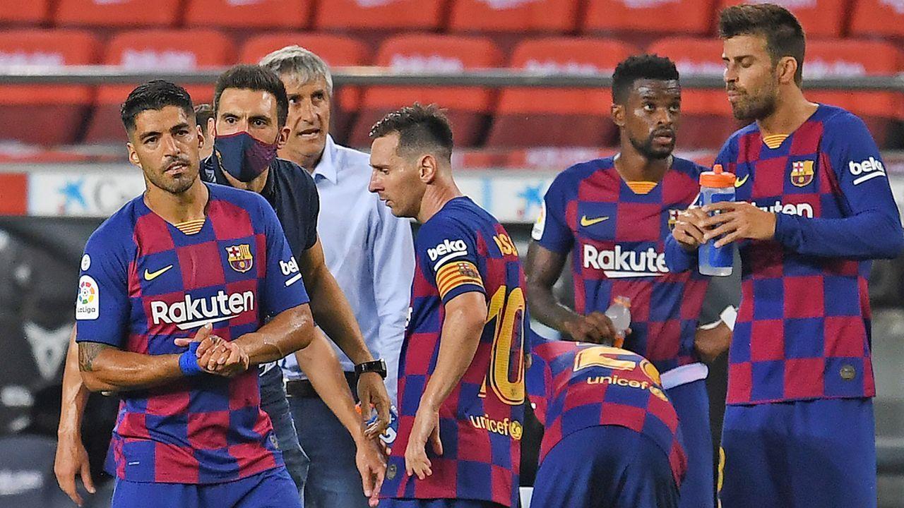 FC Barcelona - Bildquelle: 2020 Getty Images